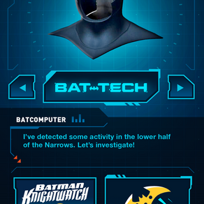 FIRST-EVER BATMAN AUGMENTED REALITY APP LAUNCHES GLOBALLY