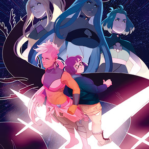Your First Look at the Magical Girls of SAVE YOURSELF! #1