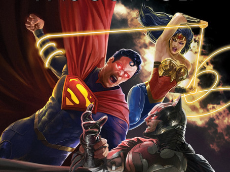 WIN INJUSTICE ON BLU-RAY™ INJUSTICE IS AVAILABLE ON DIGITAL, DVD & BLU-RAY™ OCTOBER 19th!