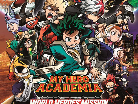 """TICKETS ON SALE NOW FOR""""MY HERO ACADEMIA: WORLD HEROES' MISSION""""IN CINEMAS OCTOBER 29!"""