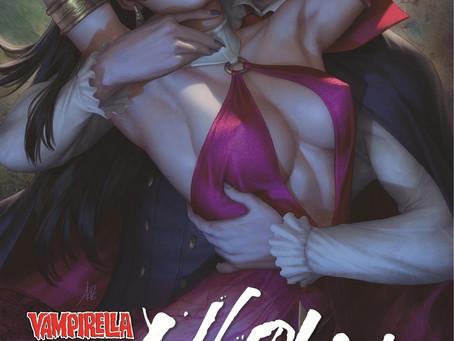 "Legendary Artist Stanley ""Artgerm"" Lau Returns to Vampirella!"
