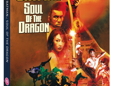 WIN BATMAN: SOUL OF THE DRAGON ON DVD!