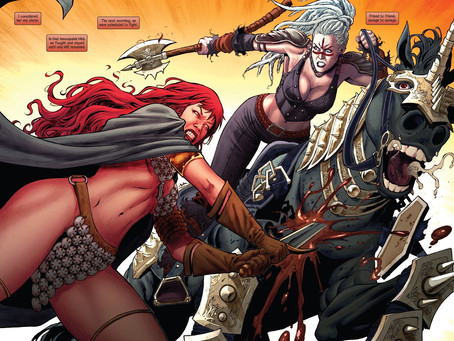 Gail Simone & Walter Geovani's Red Sonja Run Celebrated With New Limited Edition Variant Covers