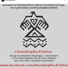 Standing Rock Tattoo - December 2016