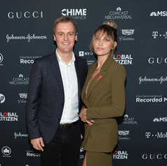 Paris with Co-Founder and CEO of Global Citizen and Global Poverty Project Hugh Evans.
