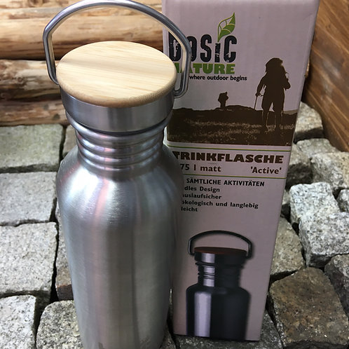 BASIC NATURE Trinkflasche ACTIVE