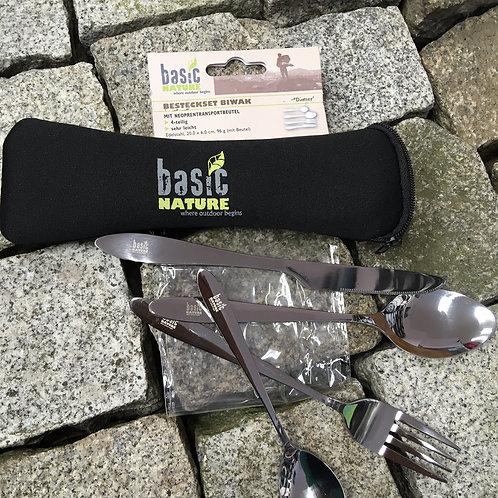 BASIC NATURE Besteckset BIWAK