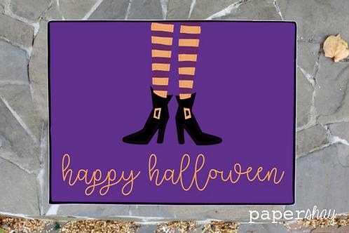 Welcome Mat-Happy Halloween