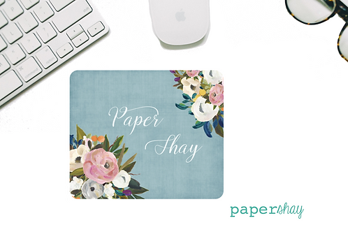 Mousepad-Watercolor Bright Florals