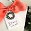 Thumbnail: Hang Tags--Cotton Ball Wreath