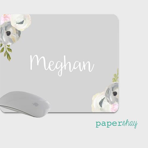 Mousepad-Watercolor Flowers