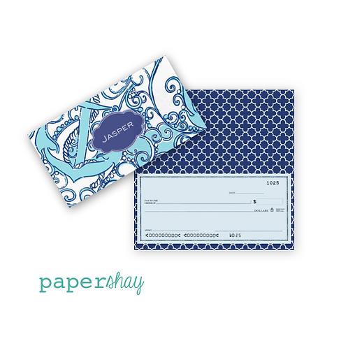 Checkbook Cover-Anchor