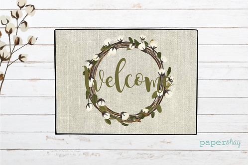 Welcome Mat-Farmhouse Welcome