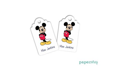 Hang Tags--Mickey