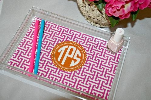 Small Acrylic Tray