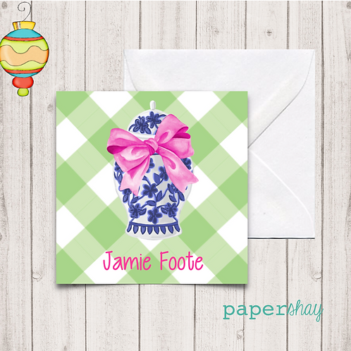 Enclosure Gift Cards, Gift Tags, Stickers
