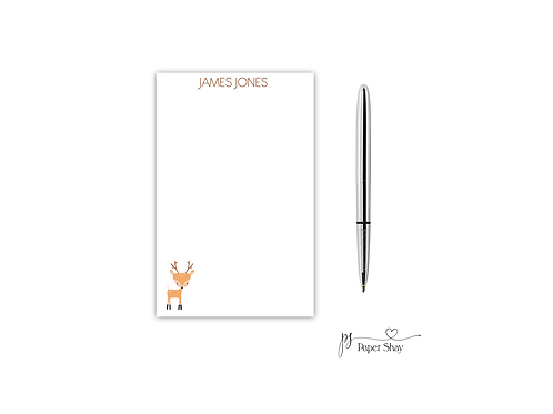 Personalized Notepad  DEER