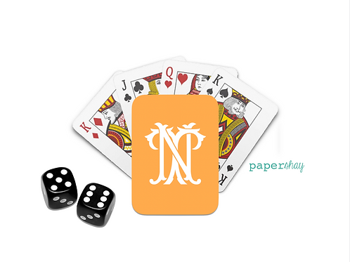 Personalized Poker Cards