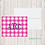 Thumbnail: Fold Over Note Cards--Gingham