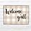 Thumbnail: Welcome Mat-Buffalo Check Welcome