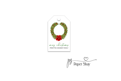 Hang Tags--Wreath