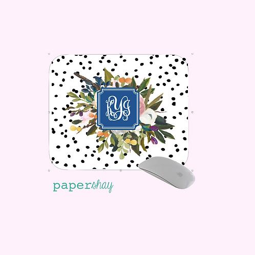 Mousepad-Speckled Flower Bouquet