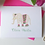 Thumbnail: Fold Over Note Cards--Elephant