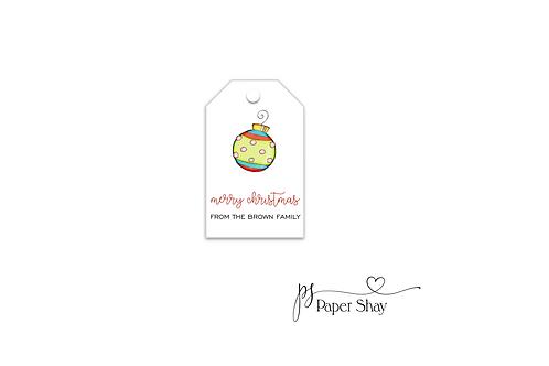 Hang Tags--Ornament
