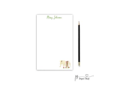 Personalized Notepad ELEPHANT