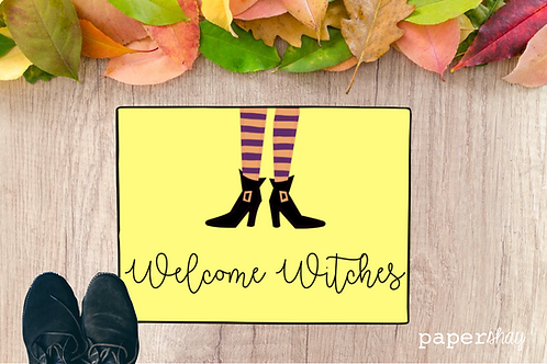 Welcome Mat-Welcome Witches
