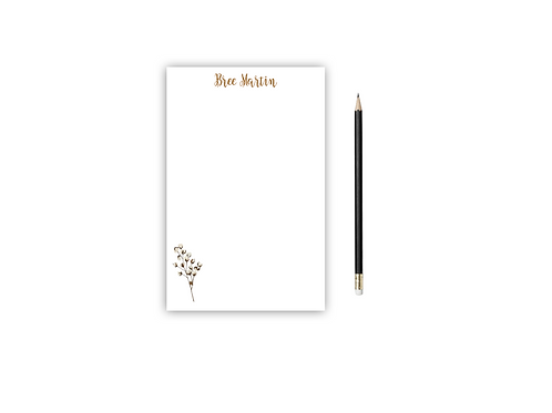 Personalized Notepad COTTON