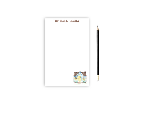 Personalized Notepad HOUSE
