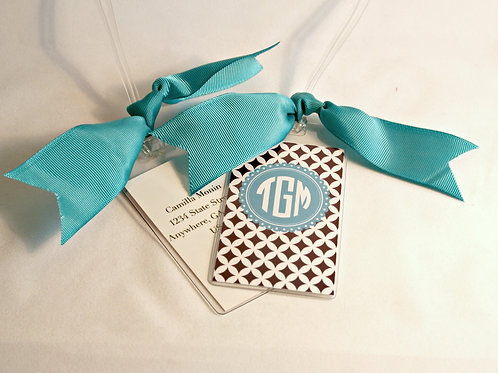 Luggage Tags Monogrammed