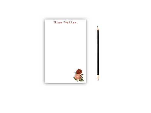 Personalized Notepad MUMS