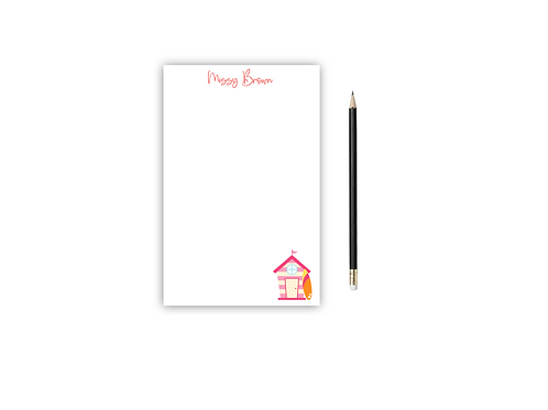 Personalized Notepad BEACH