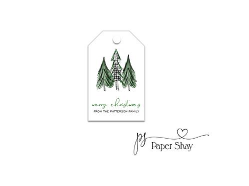 Hang Tags--Pine Trees