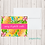 Thumbnail: Fold Over Note Cards--Pineapples