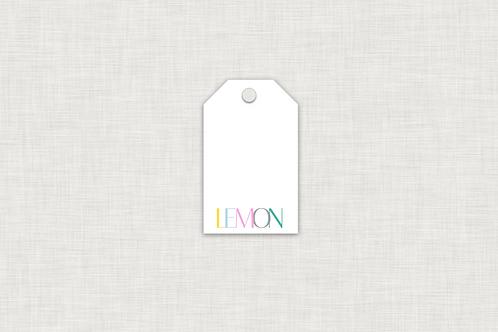 Hang Tags--Name