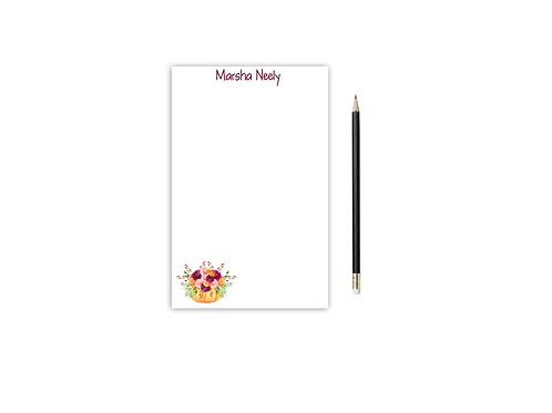 Personalized Notepad FALL