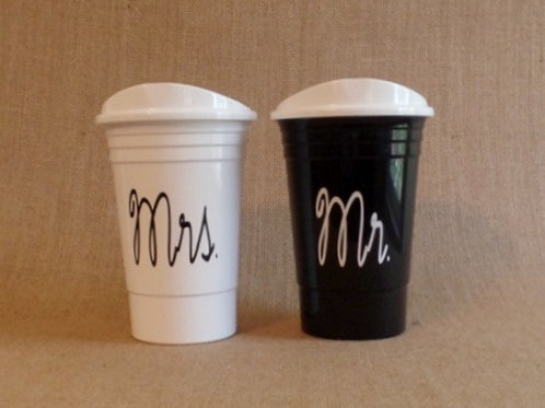Monogrammed SOLO Cup Reusable