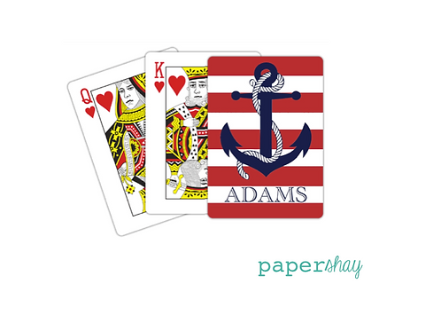 Personalized Poker Cards-Anchor