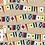 Thumbnail: Placemat Laminated--Flags
