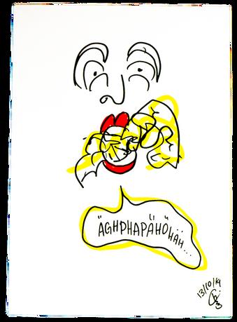 AMPHITRYON HERBERT FRITSCH SCHAUBÜHNE ILLUSTRATION CHARLIE CASANOVA