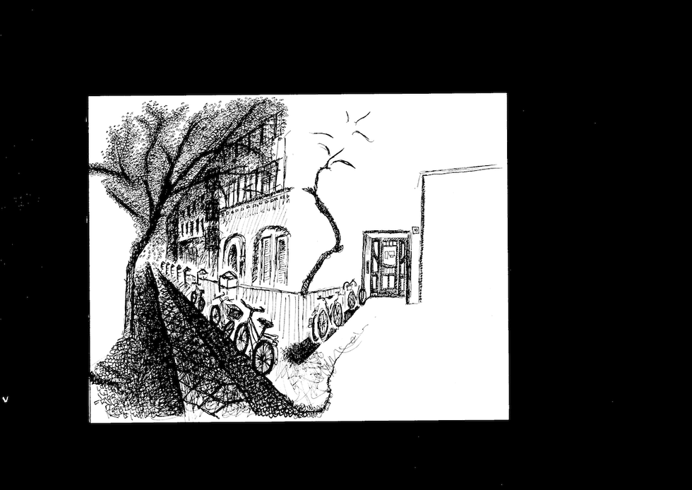 KNORRPROMENADE LEPORELLO LIVE ILLUSTRATION DRAWING CHARLIE CASANOVA
