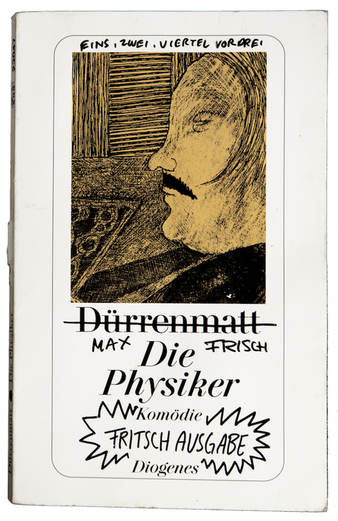 'DIE PHYSIKER' BY HERBERT FRITSCH LIVE DRAWING