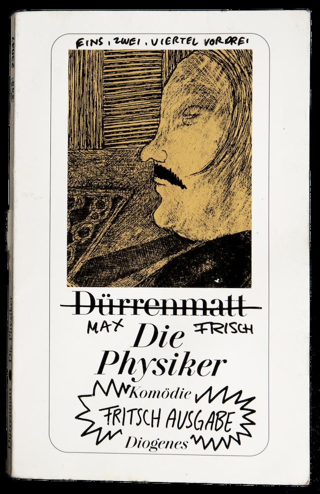 DIE PHYSIKER SCHAUSPIELHAUS ZÜRICH HERBERT FRITSCH PFAUEN ILLUSTRATION CHARLIE CASANOVA