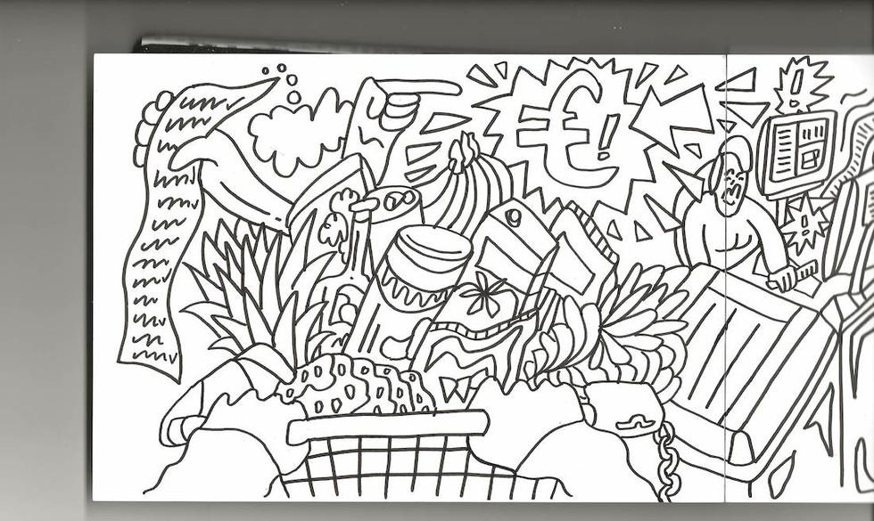 Die Geschichte vom Fliegenden Kaugummi Sven Phan Tom Illustration Charlie Casanova