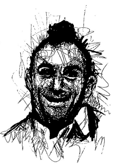 TAXI DRIVER ROBERT DE NIRO ILLUSTRATION CHARLIE CASANOVA