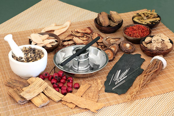 Traditional Chinese herbs used in herbal