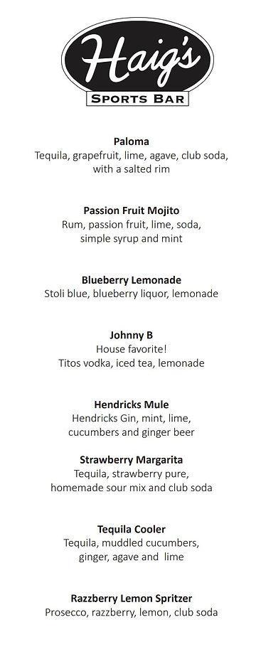 Haigs Drink Menu May 2021.JPG